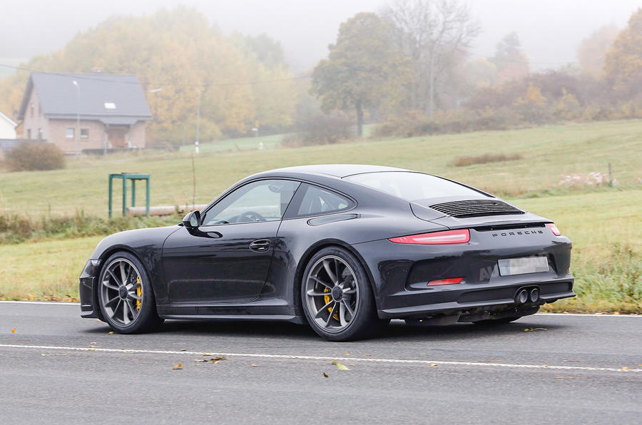 2017 Porsche 911 R Latest Spy Pictures Autocar