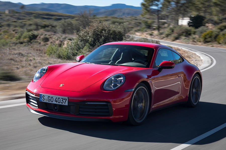 Porsche 911 \u0027992\u0027 Carrera 4S 2019 review