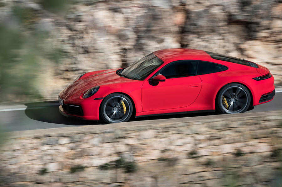 Porsche 911 Carrera 4S 2019 review - hero side