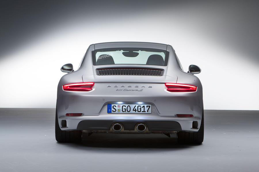 2015 Porsche 911 Facelift Revealed Autocar