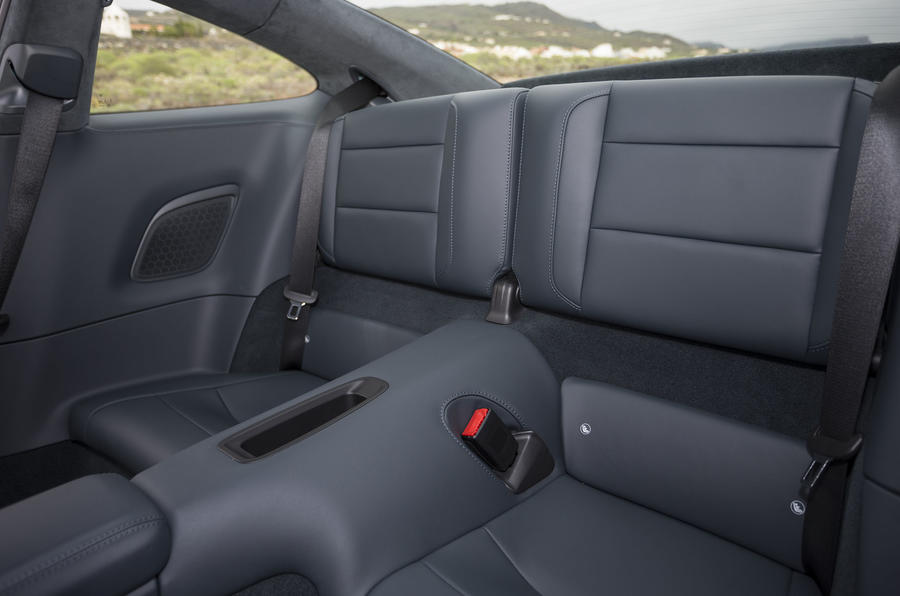 Porsche 911 Carrera S rear seats