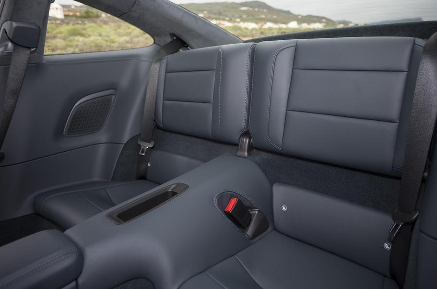 Porsche 911 Carrera S rear seats