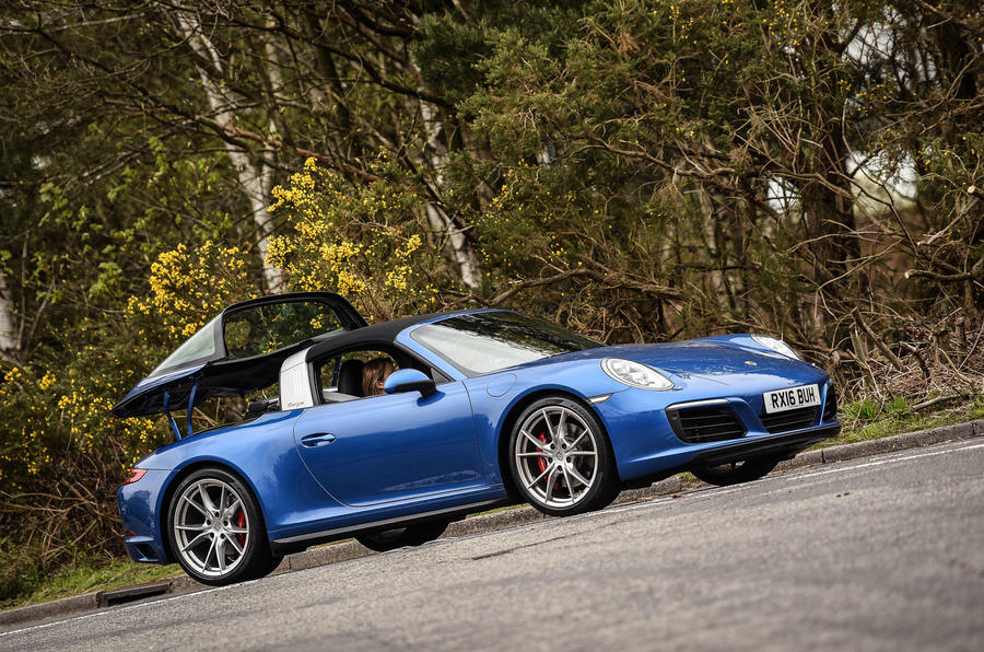 2016 porsche 911 targa 4s review autocar. Black Bedroom Furniture Sets. Home Design Ideas