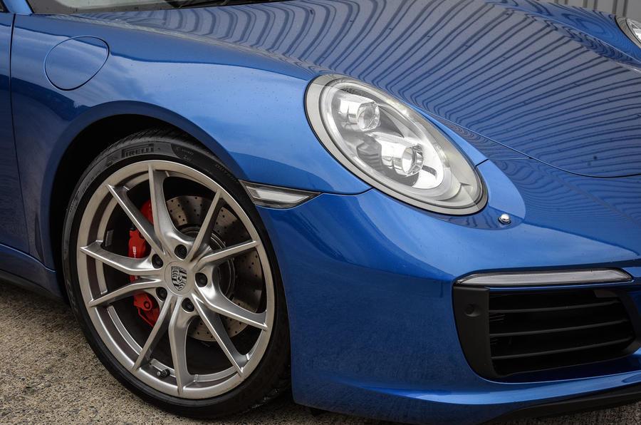 20in Porsche 911 Targa 4S alloys
