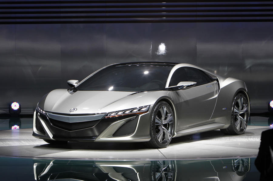 The new Honda NSX concept was originally unveiled at the Detroit motor show in 2012