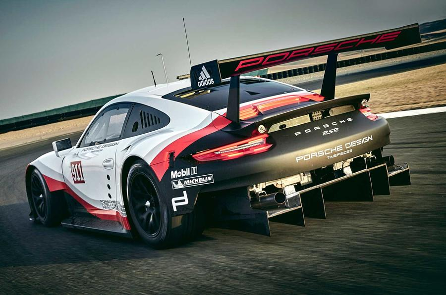 2017 Porsche 911 RSR – mid-engined Le Mans racer revealed