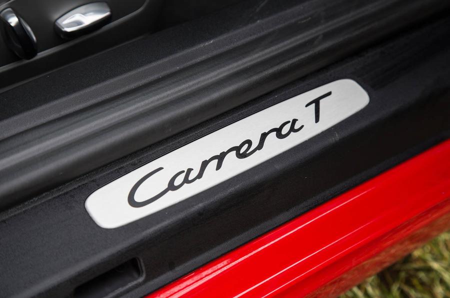 Porsche 911 Carrera T scuff plate