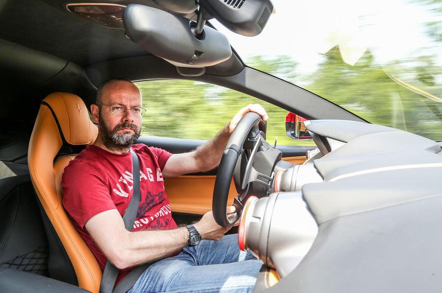 Driving the Ferrari 812 Superfast
