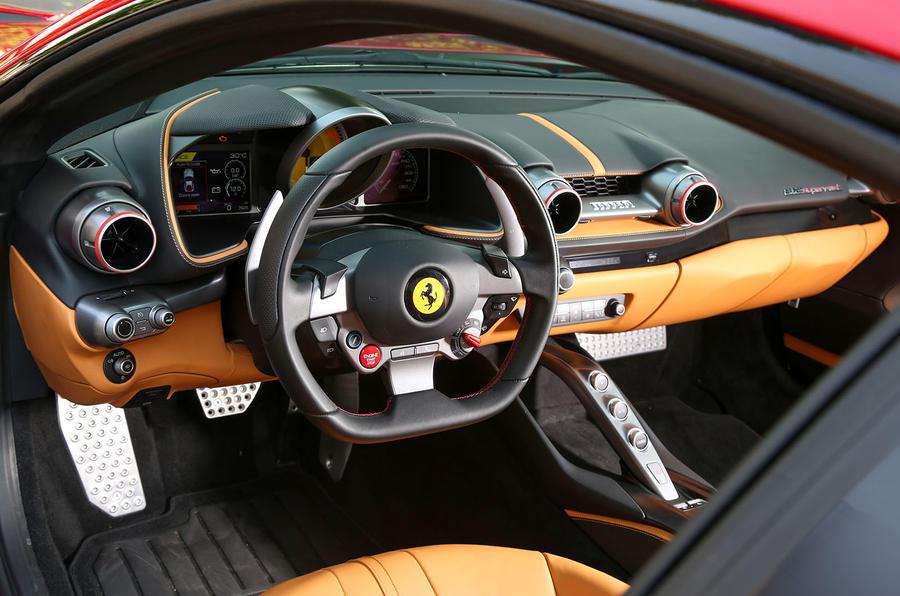 Ferrari 812 Superfast interior