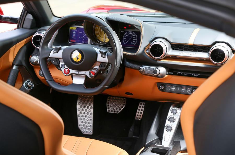 Ferrari 812 Superfast dashboard