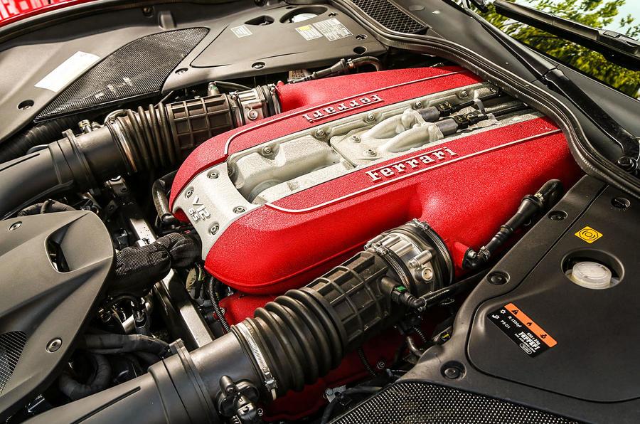 Ferrari 812 Superfast V12 engine