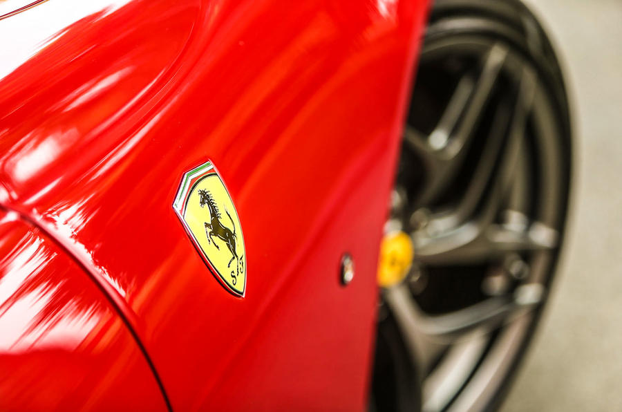 Ferrari 812 Superfast front wheel