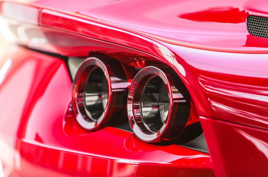 Ferrari 812 Superfast rear lights