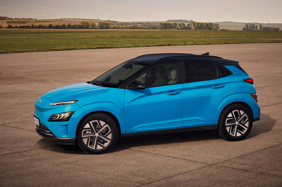 Hyundai Kona Electric MY2020 official - static front