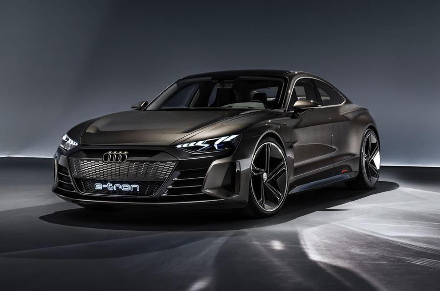 Audi E-tron GT concept static frontleft