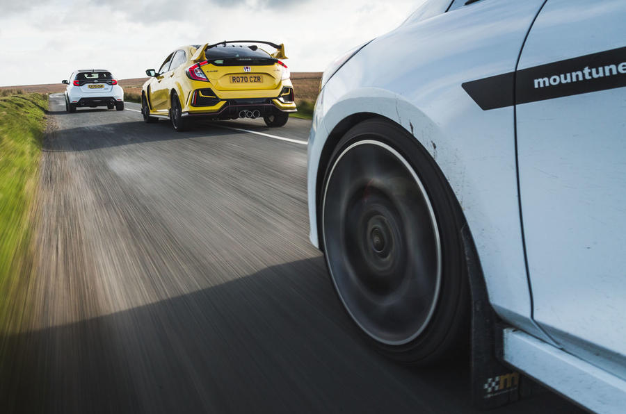 Britain's best affordable drivers car 2020 - Ford tracking