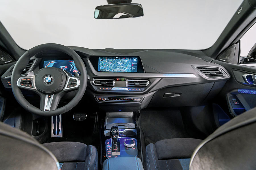 BMW 2 Series Gran Coupé studio reveal - dashboard