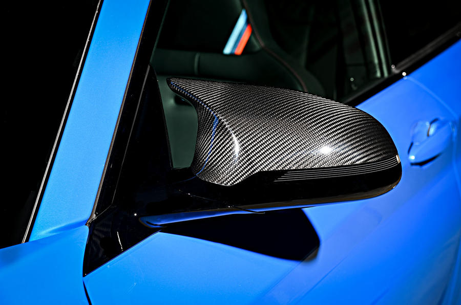 BMW CS 2020 official press images - wing mirror