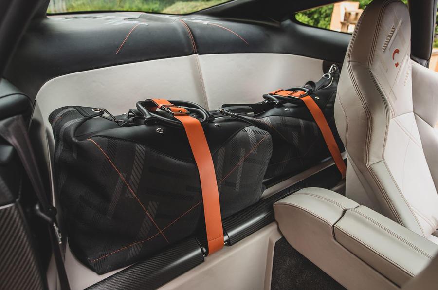 Callum Aston Martin Vanquish 25 first drive review - luggage