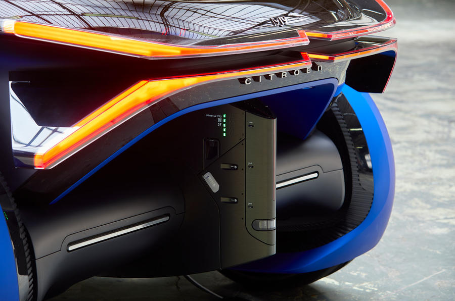 Citroen 19_19 concept official reveal - rear end