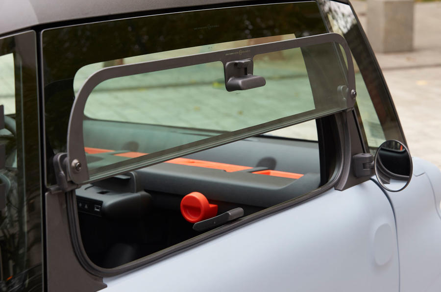 Citroen Ami (LHD) 2020 UK first drive review - windows