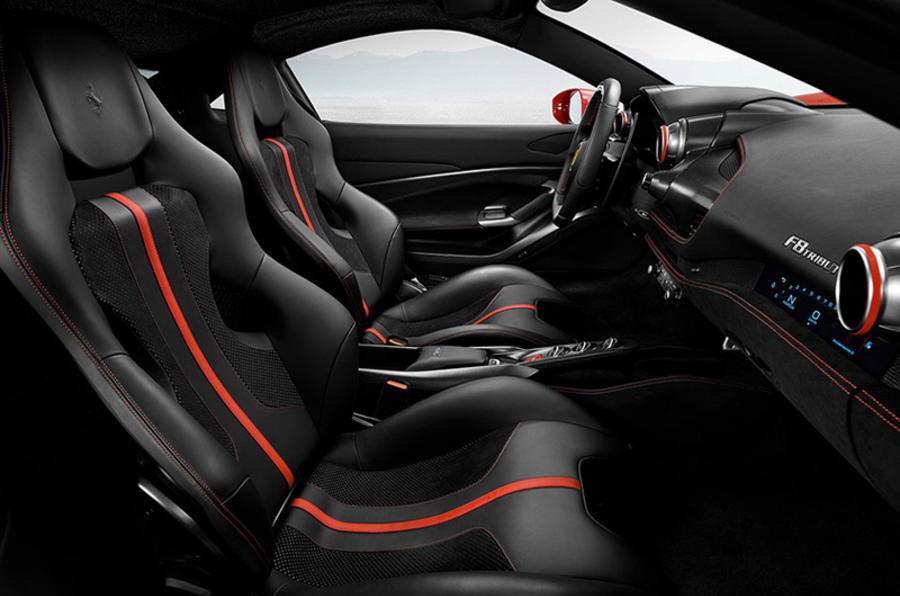 Ferrari F8 Tributo 2019 first ride review - cabin