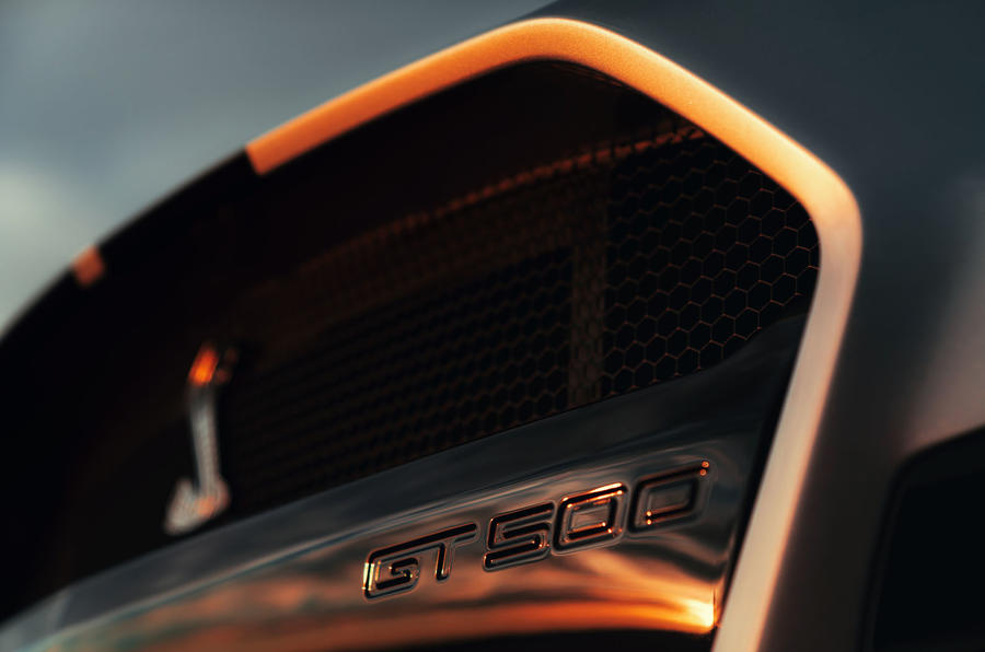 Ford Shelby Mustang GT500 official reveal - GT500 badge