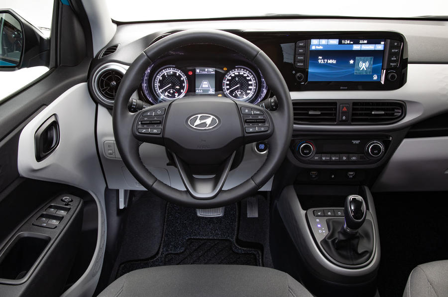 Hyundai i10 2019 reveal - studio dashboard