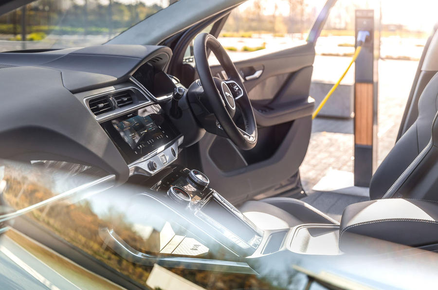 Jaguar I-Pace 2021 facelift official images - cabin