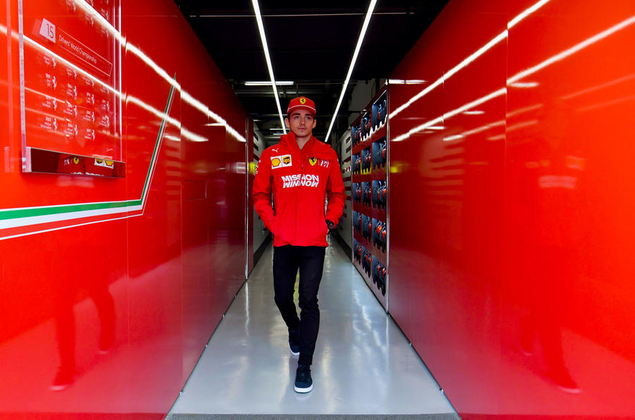 Charles Leclerc interview, 2019 British Grand Prix - Charles testing