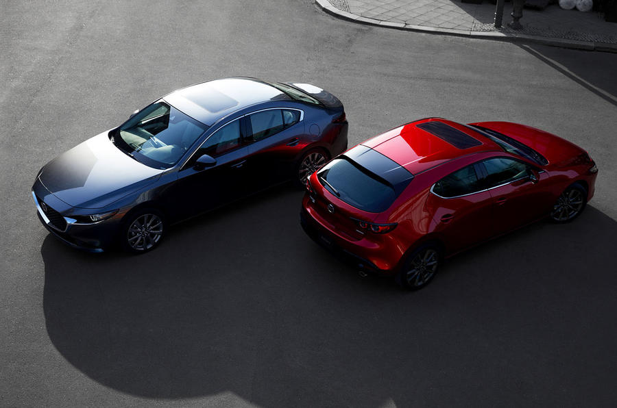 Mazda 3 2018 official reveal - hatch and saloon