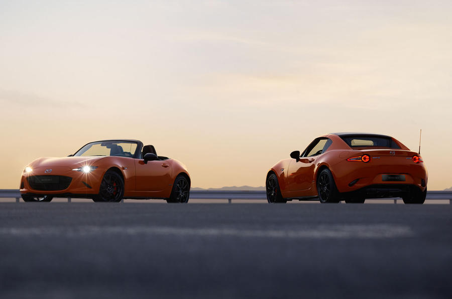 Mazda MX-5 30th Anniversary edition 2019 press photos - roadster and RF