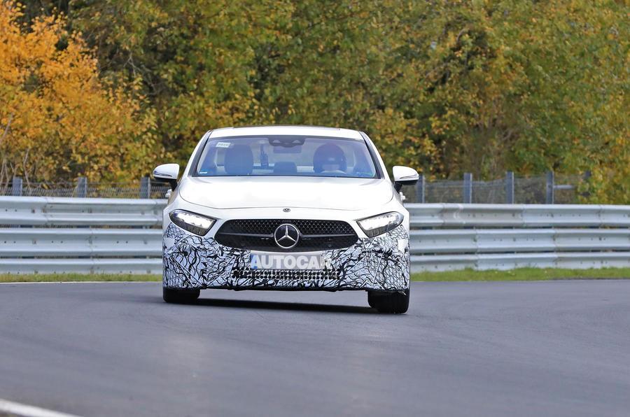 2021 Mercedes-Benz CLS spy photos - nose