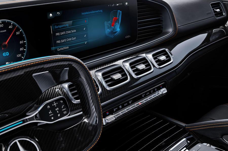 Mercedes-Benz ESF 2019 concept - official press images - instruments