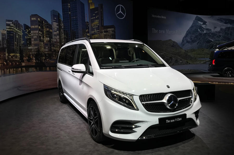 New 2019 Mercedes Benz V Class Mpv Gains More Power Autocar
