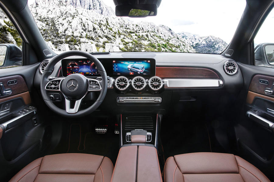 Mercedes-Benz GLB 2019 official reveal - dashboard