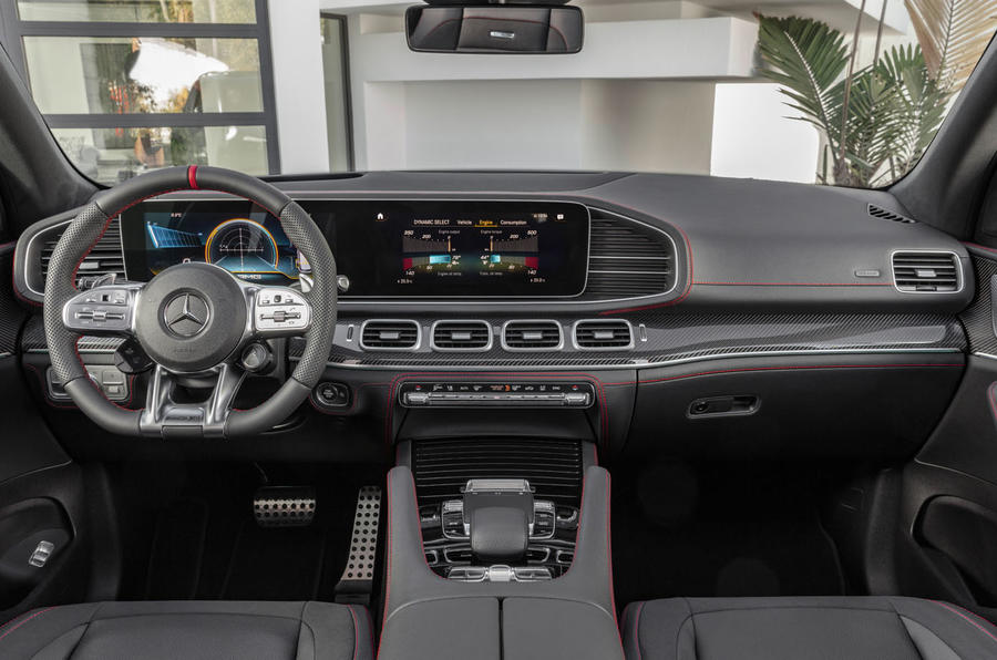 Mercedes-AMG GLE 53 official press reveal - dashboard