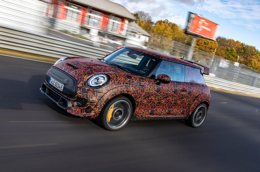 Mini JCW GPE prototype official images - high