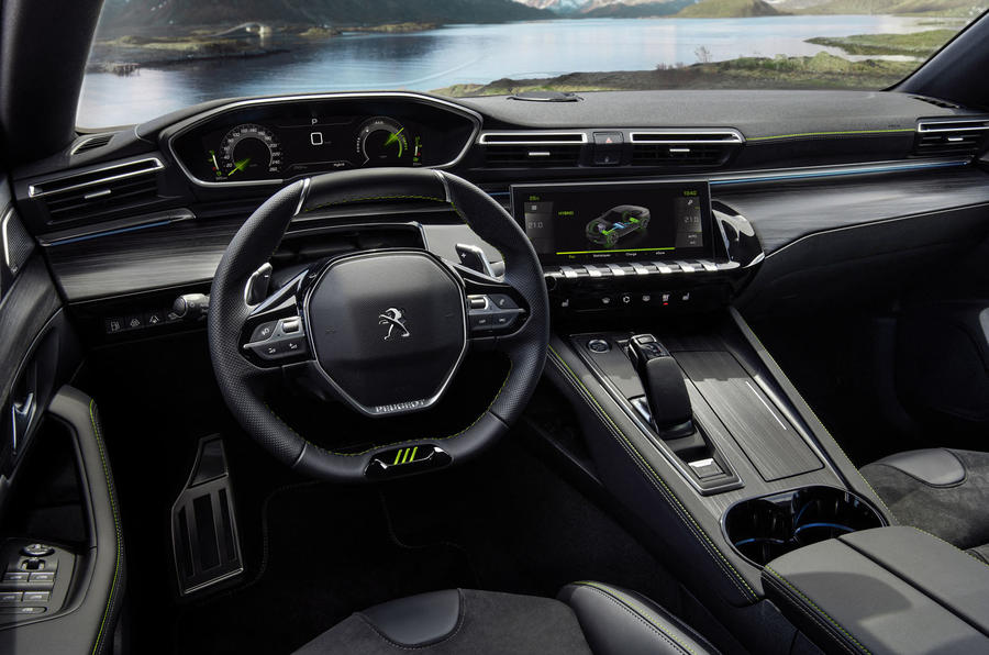 Peugeot 508 PSE official images - cabin