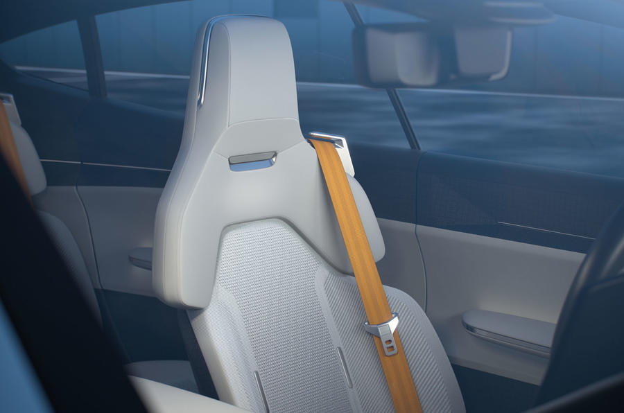 Polestar Precept concept official images - front seats
