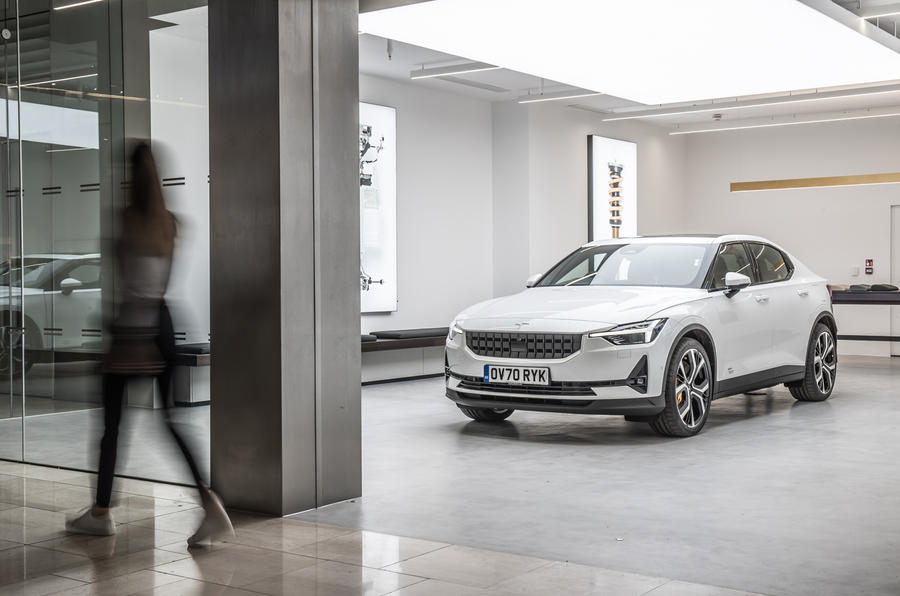 Polestar Space London opening official images - static