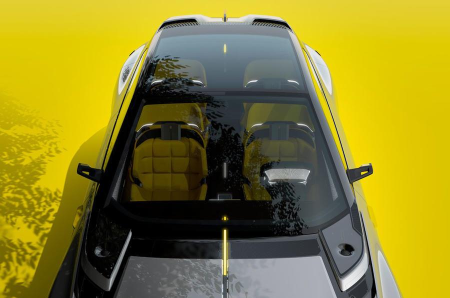 Renault Morphoz concept official studio images - windscreen