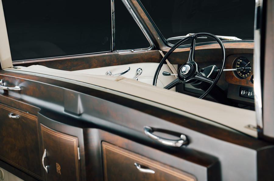 Rolls Royce by Lunaz official images - interior