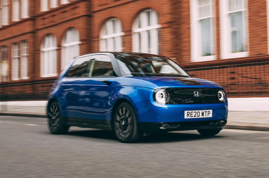 Top 10 small electric cars Honda E