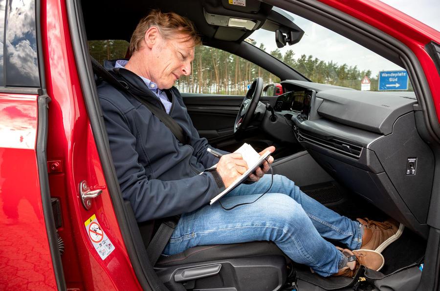 2020 Volkswagen Golf GTI first ride - GK as passenger