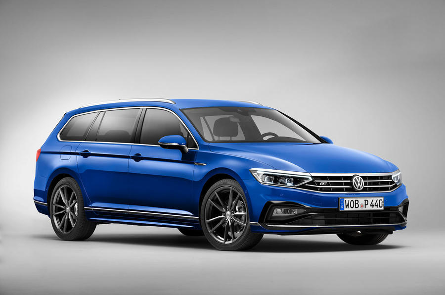 Volkswagen Passat 2019 press - static front