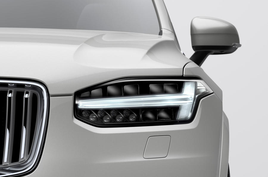 Volvo XC90 2019 refresh official press - headlights