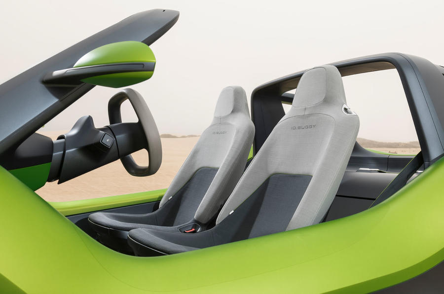 Volkswagen ID Buggy concept first drive - seats