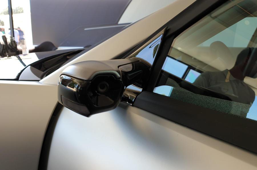 Lightyear One at Goodwood 2019 - mirror cameras