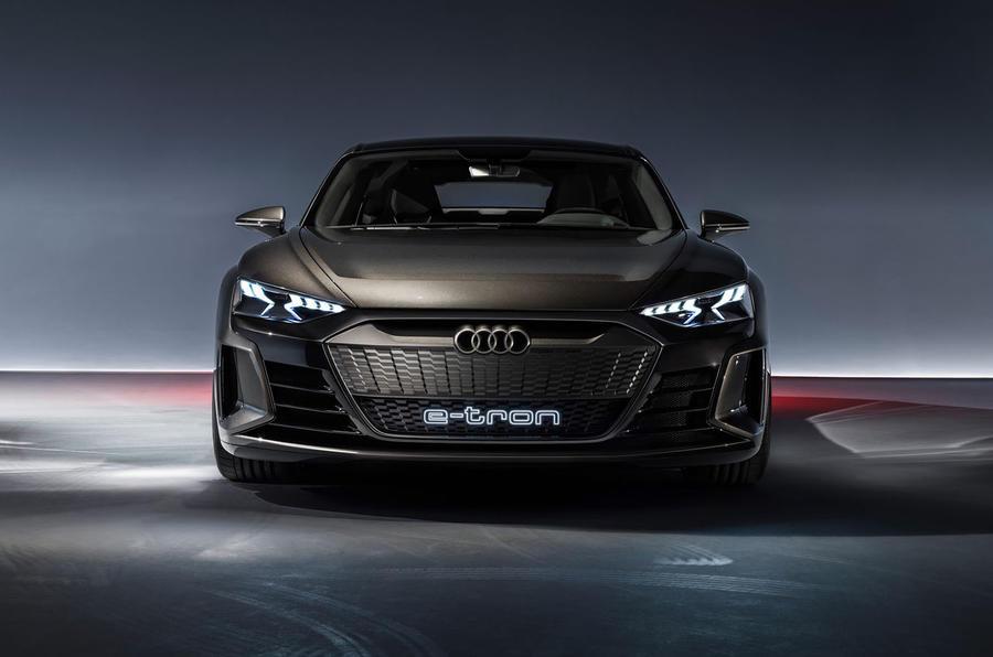 Audi E-tron GT concept static front
